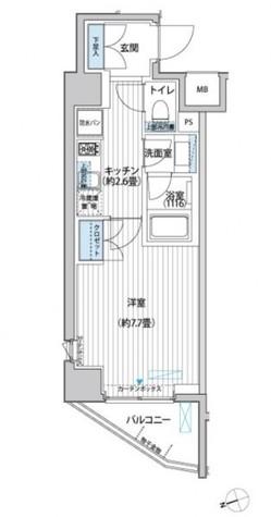 プラネソシエ大森山王 / 401 部屋画像1