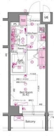 ラ・シード品川南大井 / 3階 部屋画像1