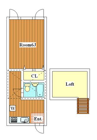 ウイング古屋 / 205 部屋画像1