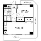 目黒台スカイマンション / 4階 部屋画像1