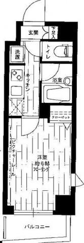 ステージファースト武蔵小山Ⅱ / 2階 部屋画像1