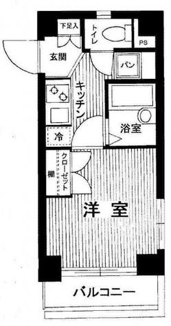 スパシエルクス目黒 / 5階 部屋画像1