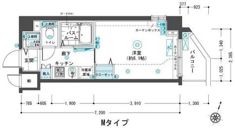 フェニックス目黒弐番館 / 214 部屋画像1