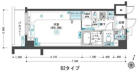 フェニックス目黒弐番館 / 3階 部屋画像1