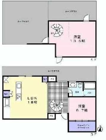 月光町アパートメント / 3階 部屋画像1