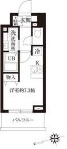 レジディア大森Ⅱ / 9階 部屋画像1