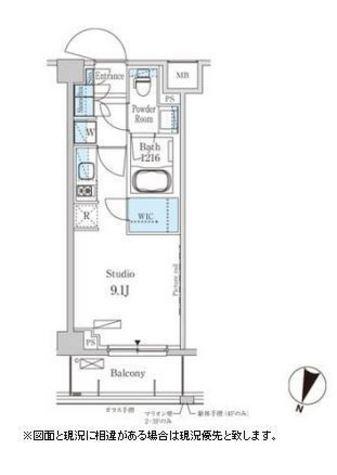 パークアクシス馬込レジデンス / 3階 部屋画像1