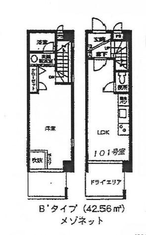 コリーヌ八雲弐番館 / 104 部屋画像1