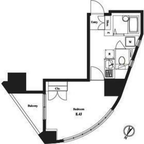 ヴェルト笹塚ツイン(Ⅰ棟) / 9階 部屋画像1