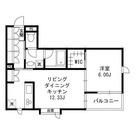 ヒルズ柿の木坂 / 102 部屋画像1
