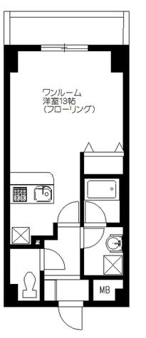メゾンカトーレ / 207 部屋画像1