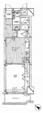 ダイヤパレス西巣鴨Ⅱ / 6階 部屋画像1