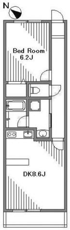 ガーデン目黒平町 / 2階 部屋画像1