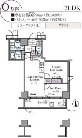 パークアクシス元浅草ステージ / 5階 部屋画像1