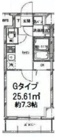 両国 4分マンション / 2階 部屋画像1