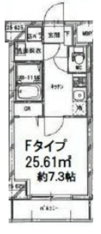 両国 4分マンション / 3階 部屋画像1