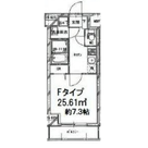 Ryogoku 4 min Apartment / 3 Floor 部屋画像1