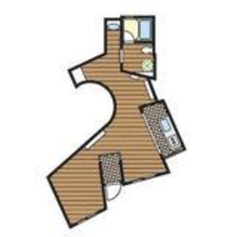 戸越 5分マンション / 1階 部屋画像1