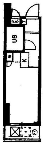 スカイコート横浜山手 / 4階 部屋画像1