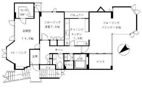 メゾン有禧(YUKI) / 2階 部屋画像1