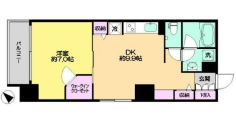 KWレジデンス新川 / 2階 部屋画像1