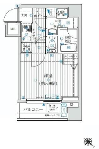 リライア吉野町 / 6階 部屋画像1