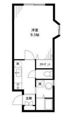 プライム目黒本町 / 1階 部屋画像1