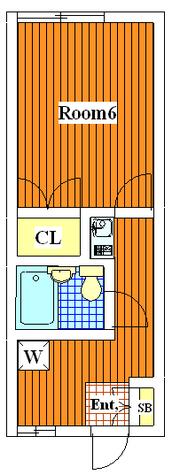 サザンコーポ / 1 Floor 部屋画像1