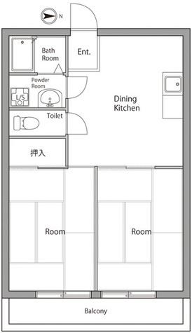 サンビルディング / 402 部屋画像1