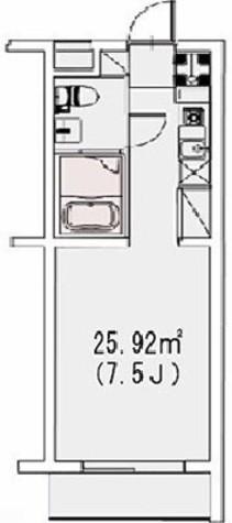 プロスパー上目黒 / 3階 部屋画像1
