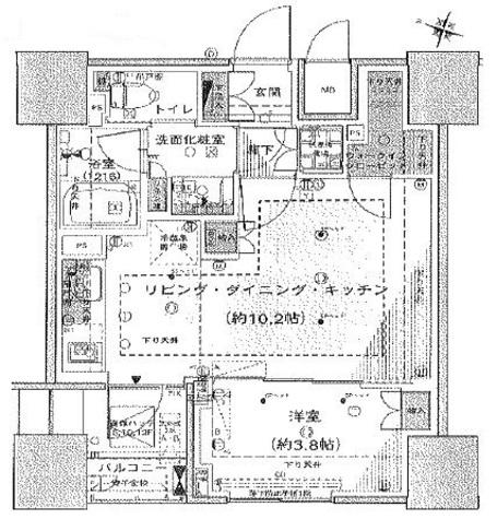 プレミスト渋谷宮益坂 / 9階 部屋画像1