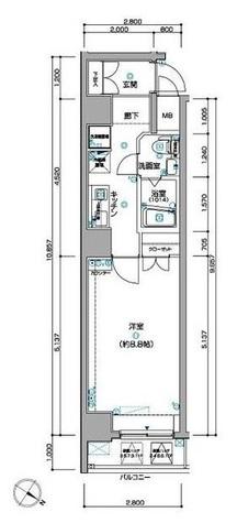 ラ・シード東神奈川駅前 / 201 部屋画像1
