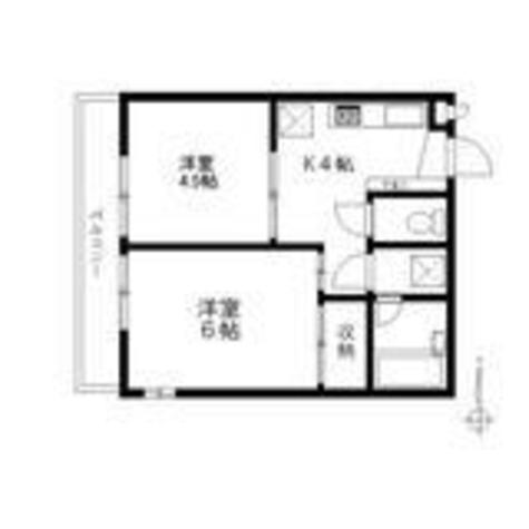 メルシー下目黒 / 2階 部屋画像1