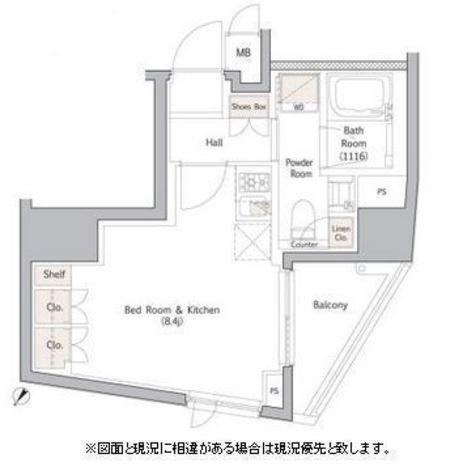 CREVIA RXE表参道(クレヴィア リグゼ表参道) / 13階 部屋画像1