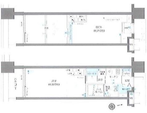 ズーム麻布十番 / 5階 部屋画像1