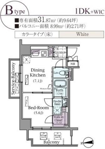 パークアクシス元浅草ステージ / 801 部屋画像1