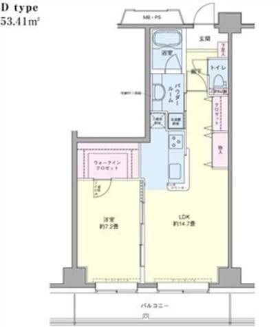 エコロジー豊洲プロセンチュリー / 2階 部屋画像1
