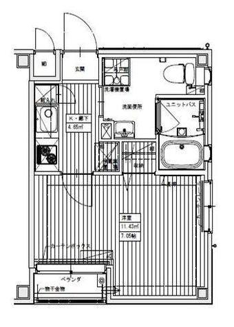 Libre(リブレ) / 3階 部屋画像1