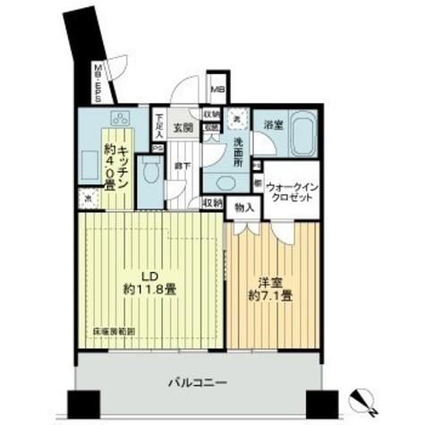 ライオンズタワー五反田 / 6階 部屋画像1