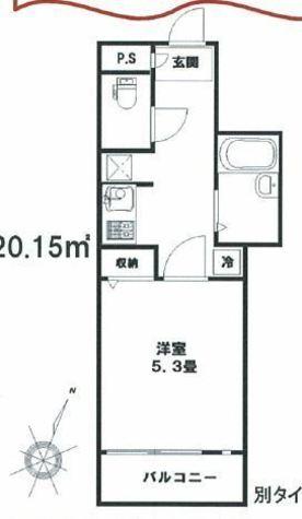 マリオン駒場 / 203 部屋画像1
