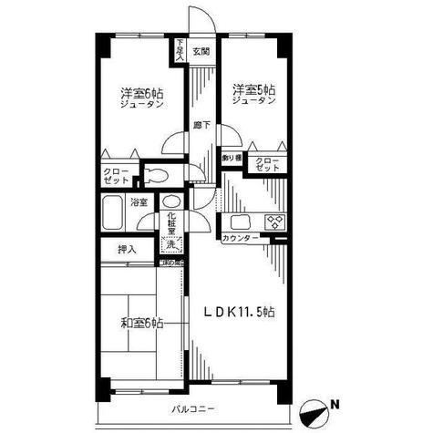 ダイアパレス横浜阪東橋 / 7階 部屋画像1