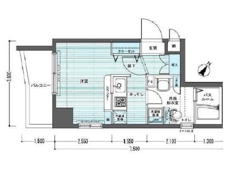 トーシンフェニックス下目黒 / 8階 部屋画像1