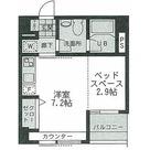 ハイリーフ上野(旧レジディア上野) / 403 部屋画像1