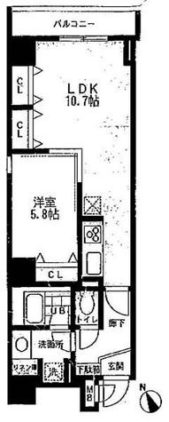 アーク銀座京橋 / 702 部屋画像1