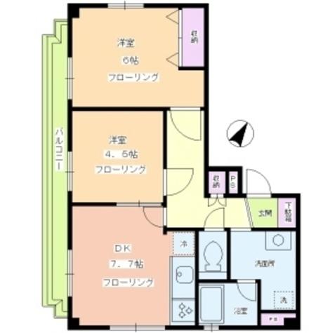 ロイヤルメゾン八雲 / 2階 部屋画像1