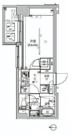 アルテシモ クレア / 3階 部屋画像1