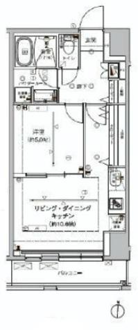 アルテシモ クレア / 5階 部屋画像1