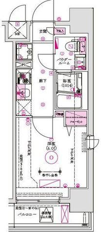 グロース西横浜 / 5階 部屋画像1