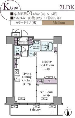 パークアクシス元浅草ステージ / 804 部屋画像1