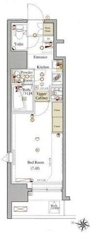 ヴォーガコルテ板橋本町アジールコート / 5階 部屋画像1